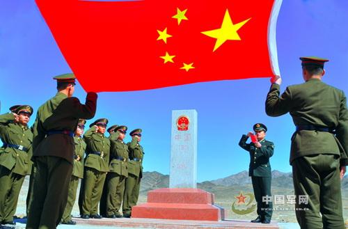 Китайцы установили в марте этого года в Тайкешкене новый пограничный знак, однако придать КПП международный статус не захотели