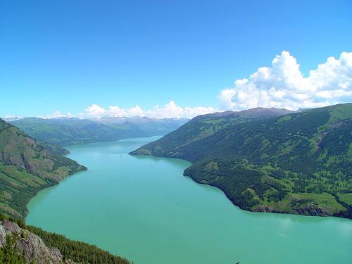 Озеро Канас (фото Panoramio.com)