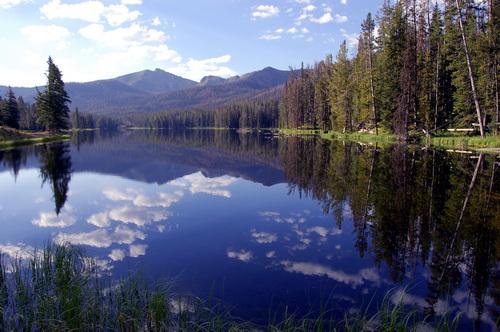 … большое количество озер…