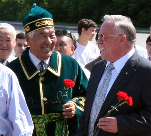 Борис Алушкин всегда находил общий язык с Александром Бердниковым