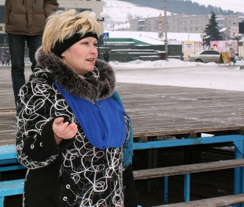 Заместитель председателя Комитета солдатских матерей Республики Алтай Лидия Шахоткина