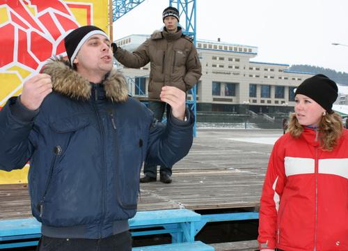 Молодогвардеец Денис Плесенников провел мастер-класс по выступлению перед оппонентами