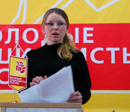 Вновь появившийся молодежный функционер Кристина Богомолова раскритиковала работу молодежного парламента республики