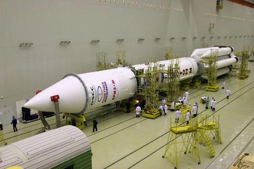 Ракета-носитель «Протон-М» с разгонным блоком «Бриз-М»