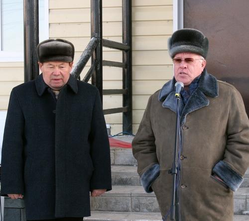 Глава Шебалинского района Анатолий Соколов и глава республики Александр Бердников