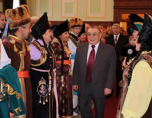 Торжества по случаю юбилея Юрия Антарадонова прошли в большом зале правительства