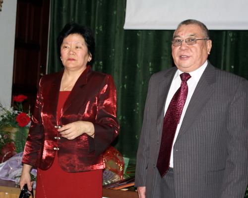 Господин Антарадонов с супругой