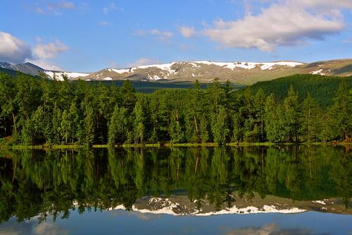 Озеро Ару-Кем. Фото Ильи Рижинашвили