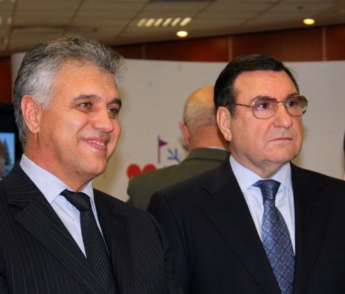 Сергей Тевонян и Владимир Страшко