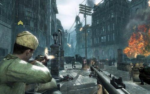 Действия Call of Duty разворачиваются в окрестностях Берлина
