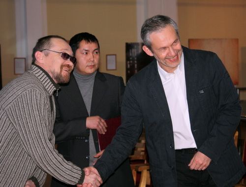 Алексей Эдоков (слева): Дмитриев среди нас – белая ворона