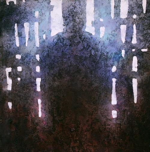 По мнению искусствоведов, картины Дмитриева полны архаичных образов («Тайна»)