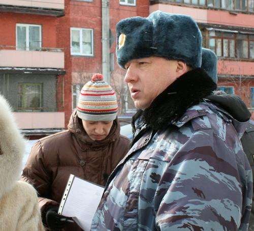 Милиционеры составили протокол в отношении организатора акции