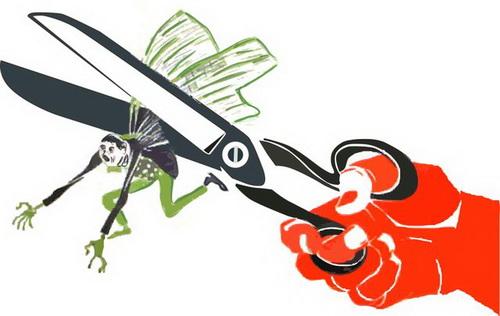 Тем времен в марийской блогосфере распространяют креатив на тему обрезанных крыльев…