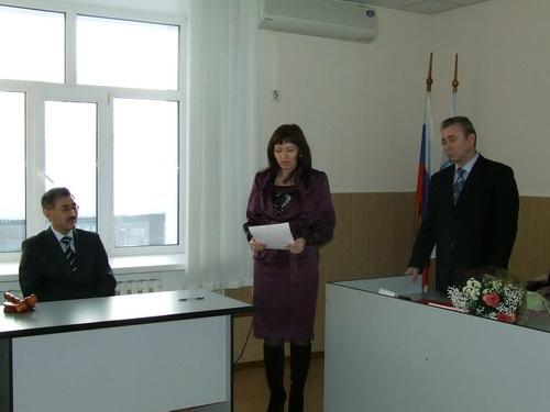Оксана Чернова приняла присягу судьи