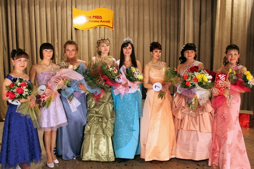 В Горно-Алтайске прошел конкурс красоты «Мисс МВД»