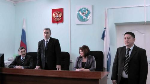 Председатель Верховного суда представил Сатлаева районному активу