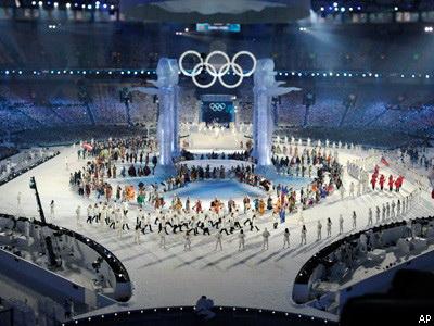 В Ванкувере открылись Олимпийские игры. Фото Associated Press