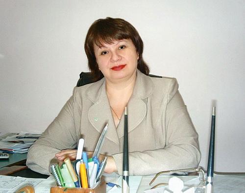 Надежда Арыкова на рабочем месте в училище