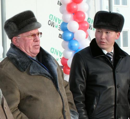 Александр Бердников и Леонид Ефимов
