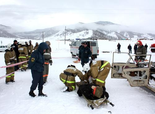 В Онгудае прошли соревнования по оказанию первой помощи пострадавшим в ДТП