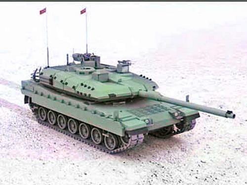 Макет первого турецкого танка