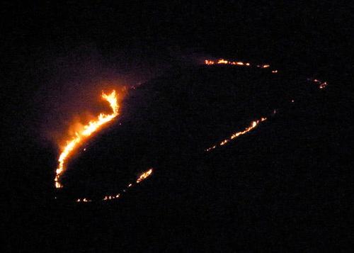Пожар на Тугае