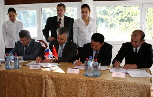 … и подписали протокол намерений с Республикой Алтай
