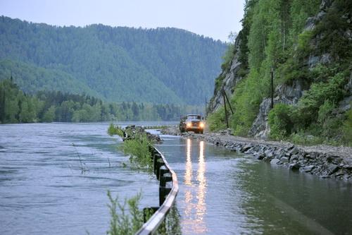 Затоплен участок дороги Турочак – Артыбаш