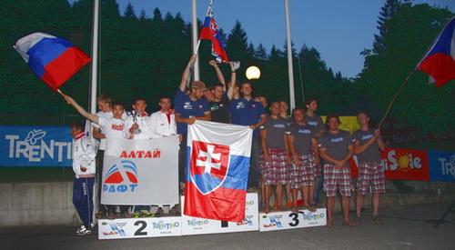 Завершился Чемпионат Европы по рафтингу