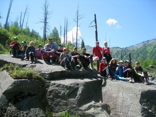 Участники экологического лагеря «Заповедная родина - 5»