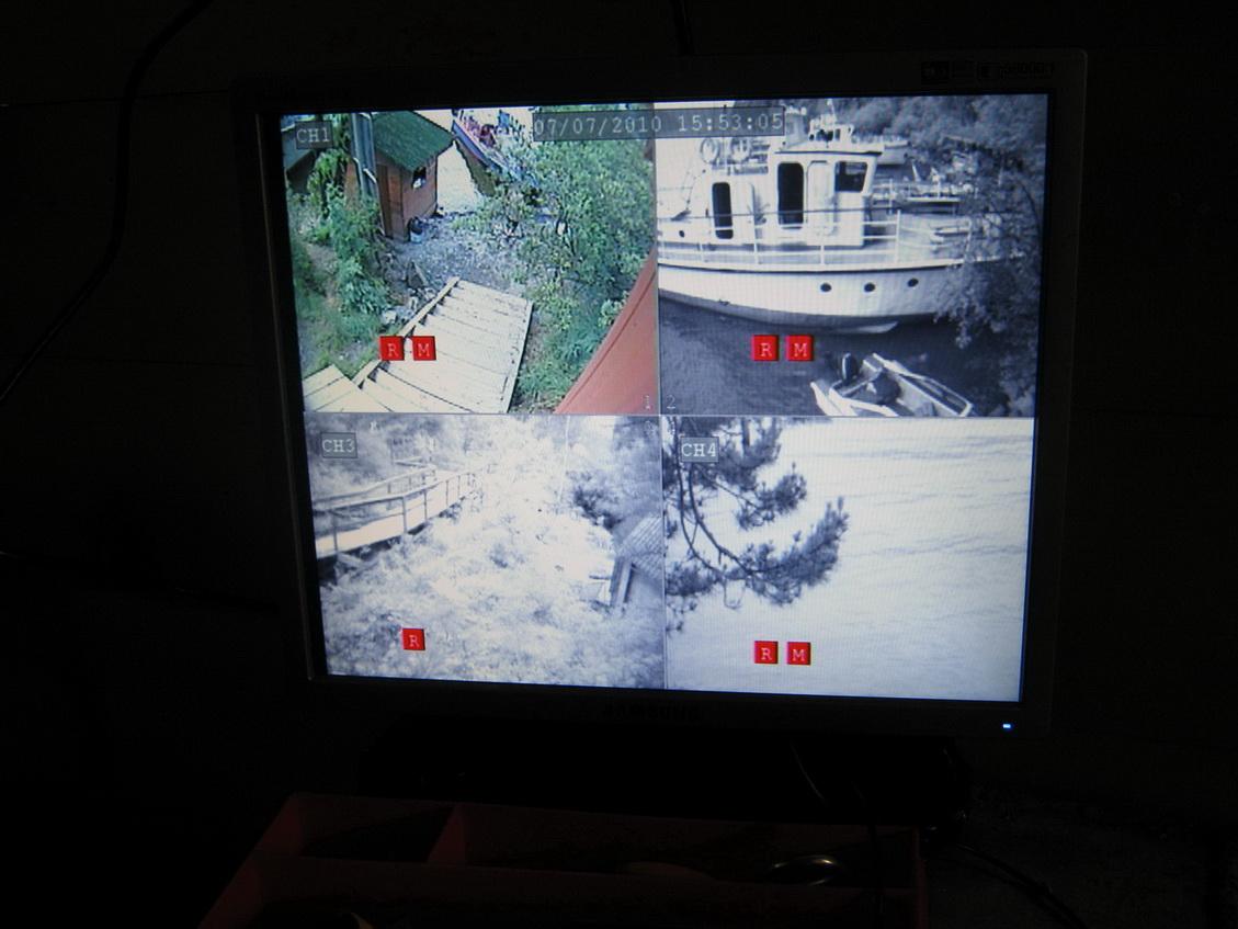 Система видеонаблюдения позволит знать, чем занимаются туристы на Корбу