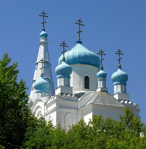 Храм Александра Невского в Бийске