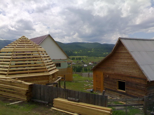 Строительство визит-центра в Улагане