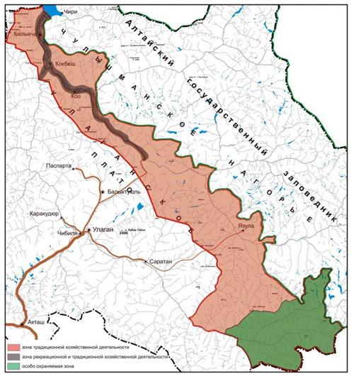 Границы нового природного парка