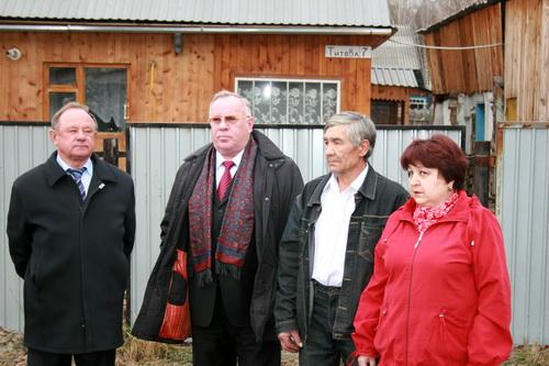 Виктор Облогин, Александр Бердников, Владимир Суртаев и Лидия Глебова