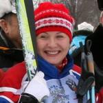 Светлана Гашкина победила в лыжном VIP-забеге (фото)