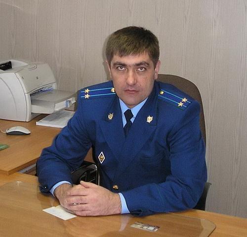 Прокурор Усть-Коксинского района Владимир Бадин