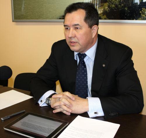Министр туризма Республики Алтай Евгений Ларин