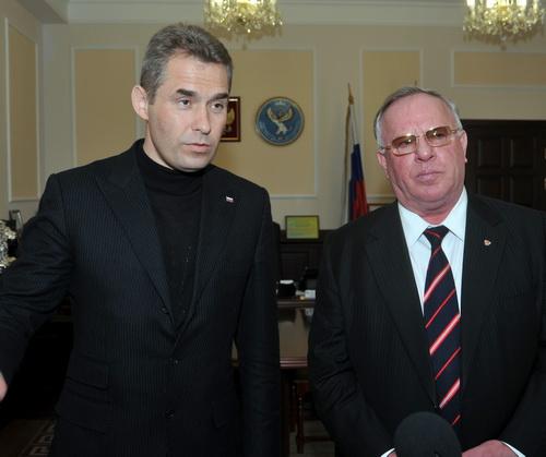 Павел Астахов и Александр Бердников