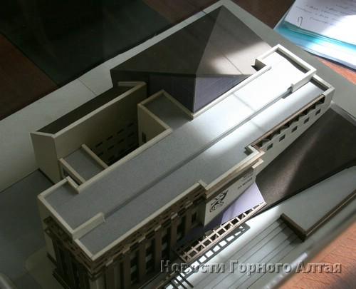 Макет музея