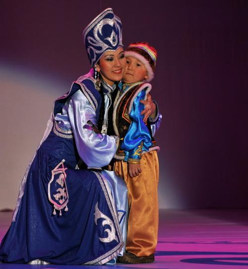 «Принцесса Алтая» Арунай Майхиева