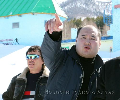 Делегацией Республики Алтай в Риддере руководил замминистра туризма Мерген Екеев