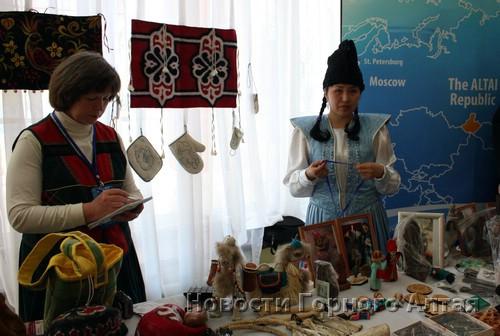 Алтайские турпредприятия провели для гостей форума презентацию