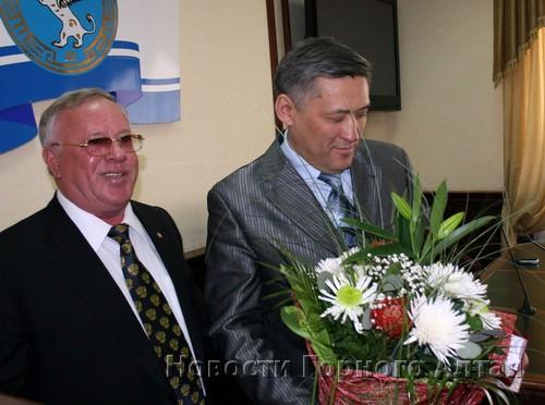 Александр Бердников проводил Юрия Валяева