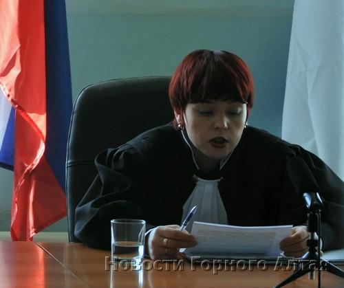 Судья Марина Соколовская читает решение