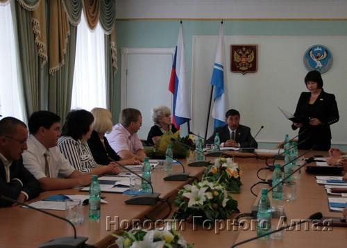 Заседание избирательной комиссии