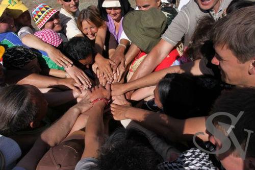 Церемония «направления энергии Горного Алтая на благо всей Земли»