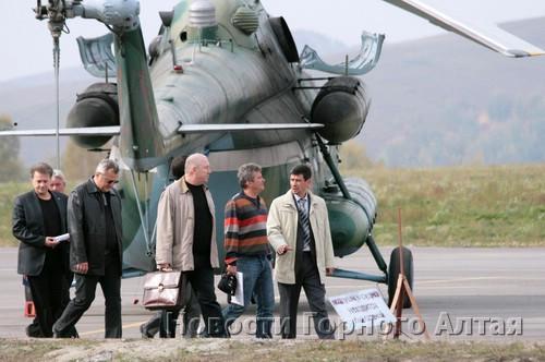 Комиссия Росавиации посетила горно-алтайский аэропорт
