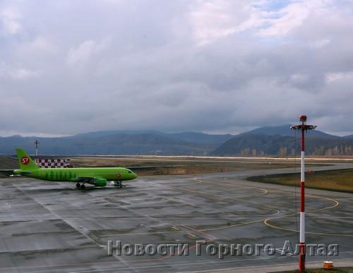 Аэропорт Горно-Алтайска принял аэробус А-320